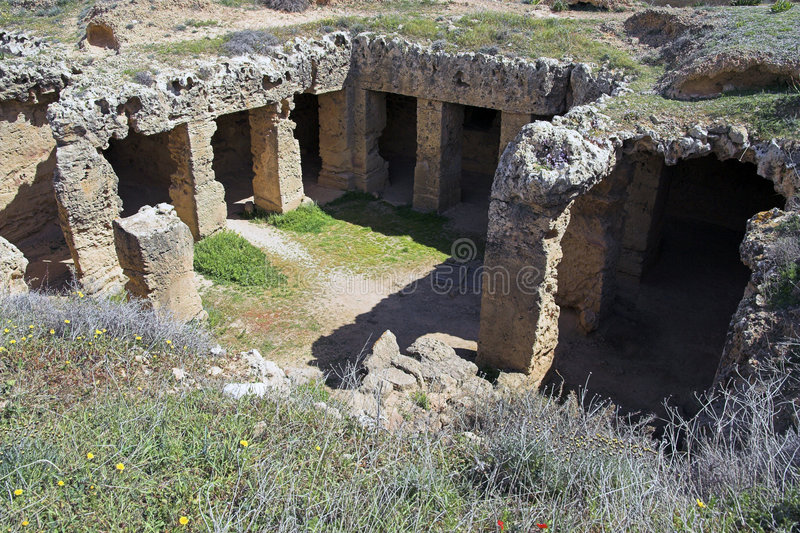Tombs of the Kings. Paphos, Cyprus royalty free stock image