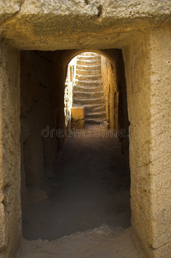 Tombs of the Kings. Paphos, Cyprus royalty free stock photo