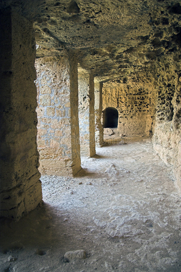 Tombs of the Kings. Paphos, Cyprus stock photos
