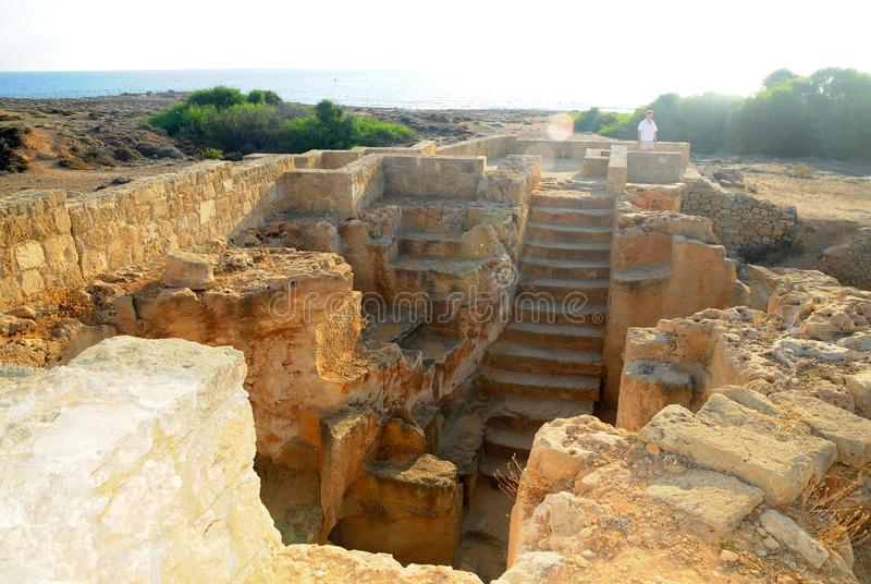 Download Tombs Of The Kings - Stairs To One Of The Tombs Editorial Stock Image - Image: 17829554