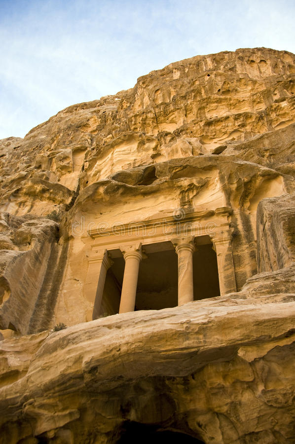 Download Tombs In Little Petra, Jordan Stock Photo - Image: 12438038