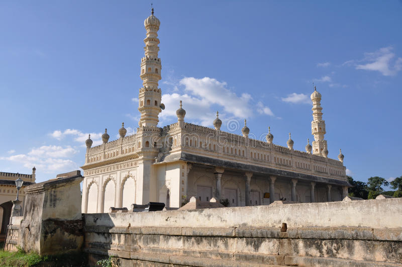 The tombs of Tipu Sultan & Hyder Ali - Gumbaz royalty free stock image