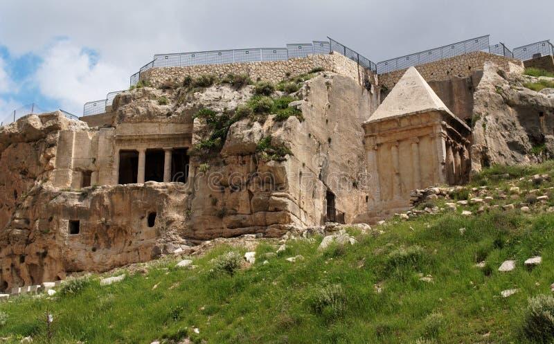 Tombs of Zechariah and Benei Hezir in Jeru