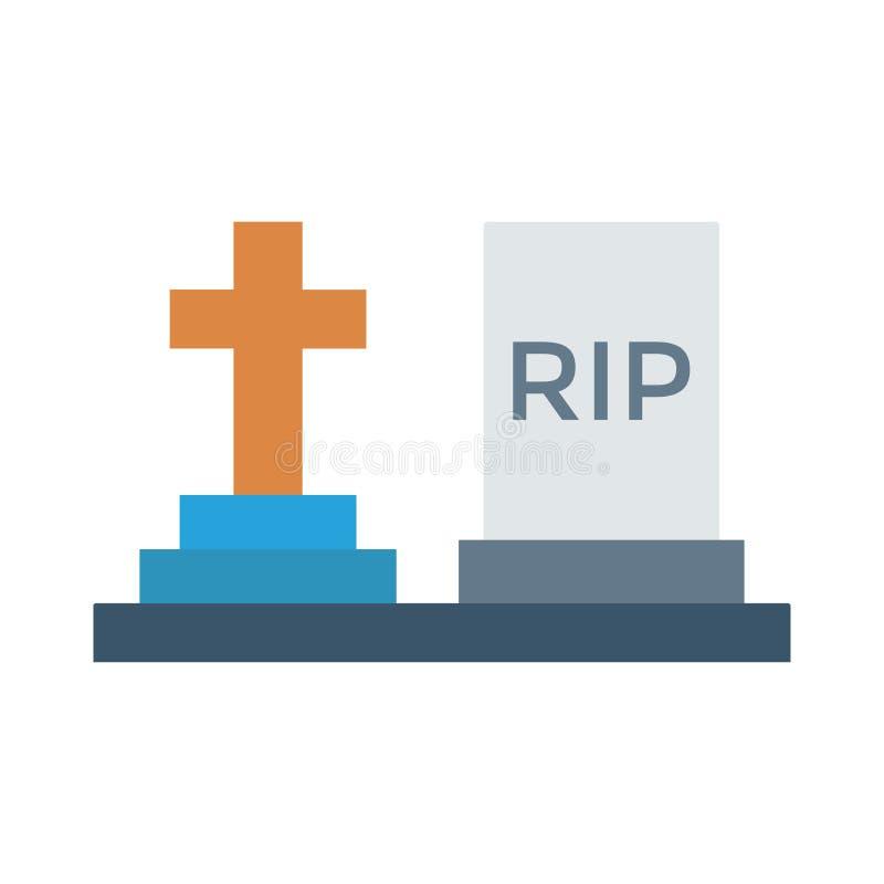 tombstone ilustração do vetor