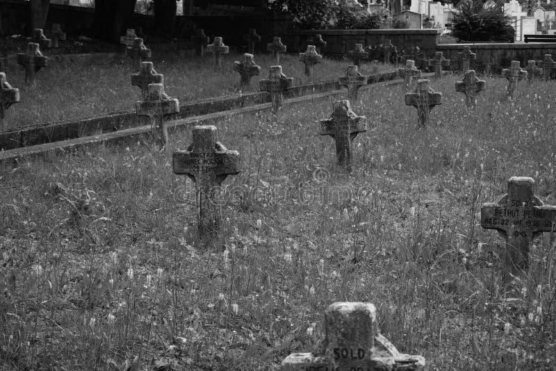 tombstone royaltyfria foton