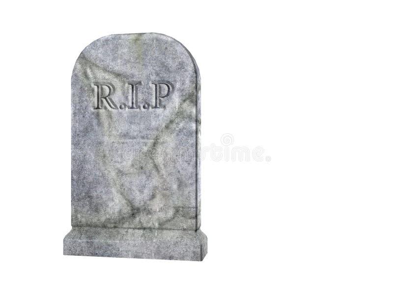 Tombstone stock illustration