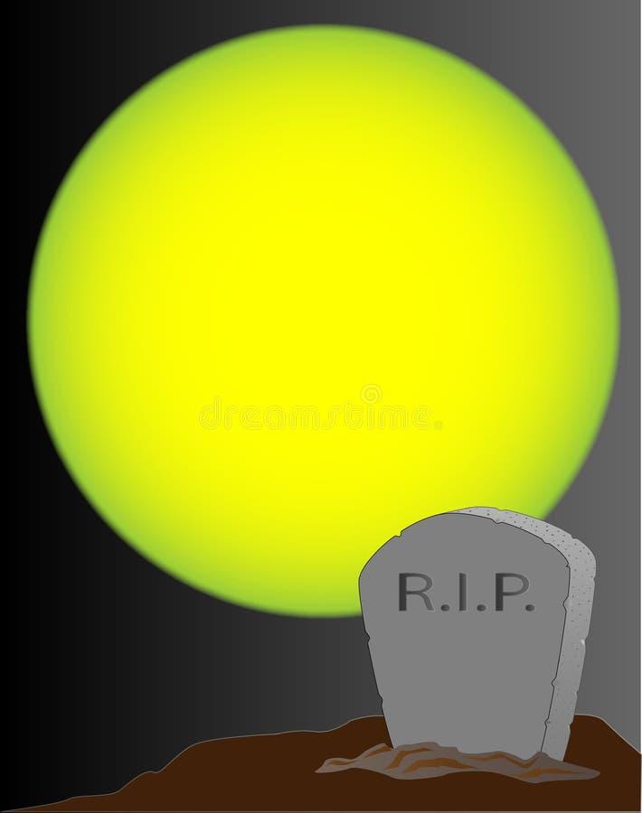 tombstone illustration de vecteur