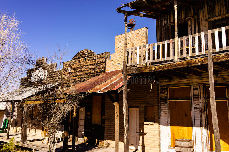 Tombstone Arizona. This image was captured an Tombstone, Arizona. The location was in an area off the beaten path from the main tourist area. This was taken in royalty free stock photography