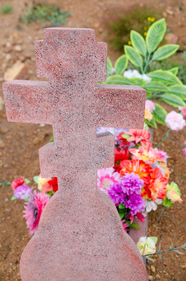 Download Tombstone cross stock photo. Image of ground, tomb, monument - 28247964