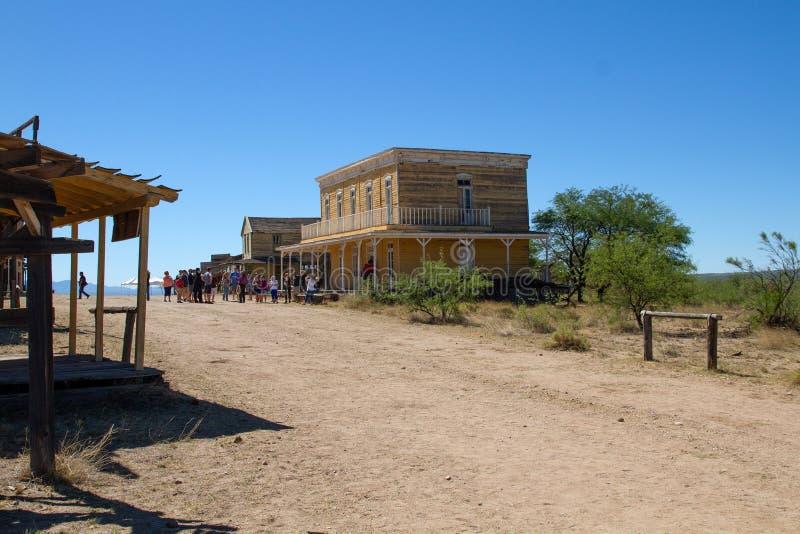 Tombstone Movie 25th Anniversary Mescal Arizona royalty free stock photography