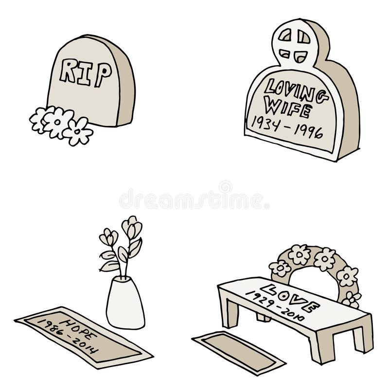 Free Tombstones Royalty Free Stock Image - 39817646
