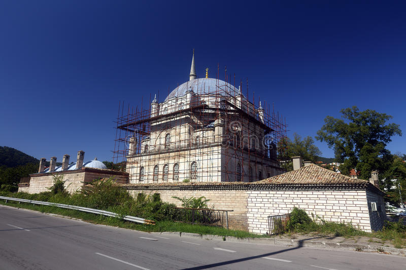 Tombul mosque stock image