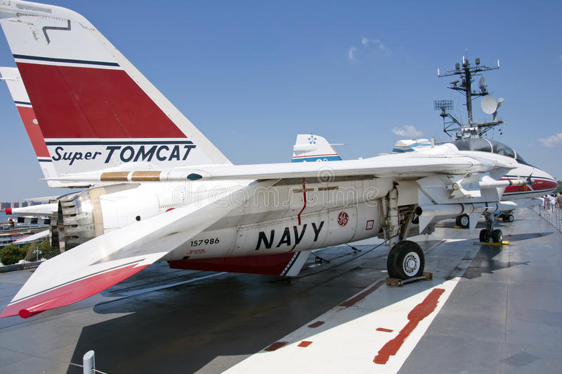 Tomcat F-14 foto de archivo