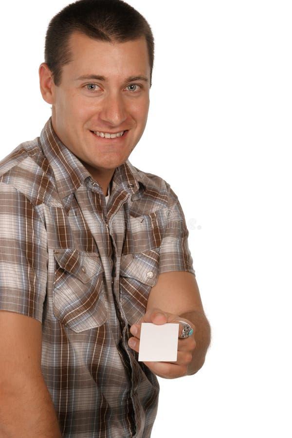 Tome aqui meu cartão imagens de stock royalty free