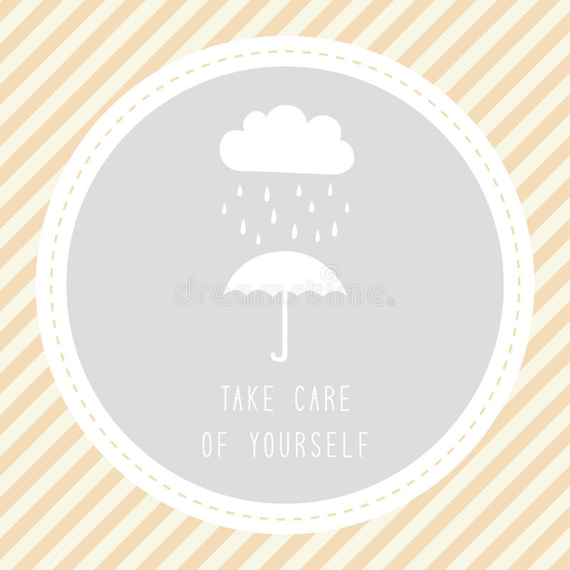 Tome el cuidado de yourself2 libre illustration