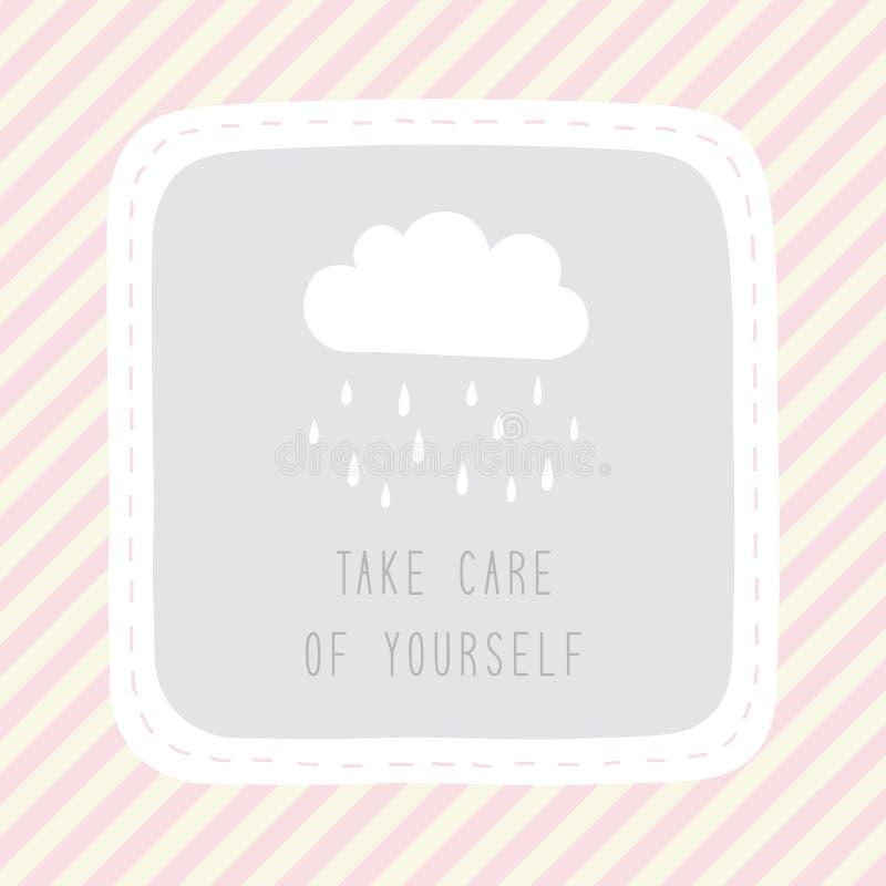 Tome el cuidado de yourself1 libre illustration