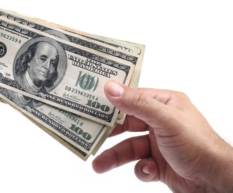 Tome el dinero imagenes de archivo
