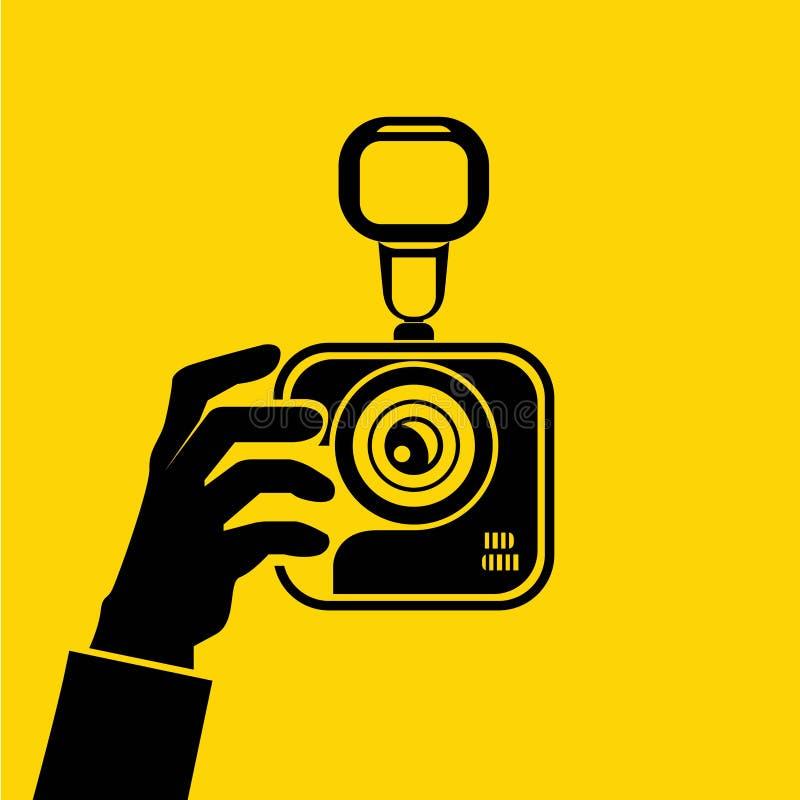 Tome la foto libre illustration