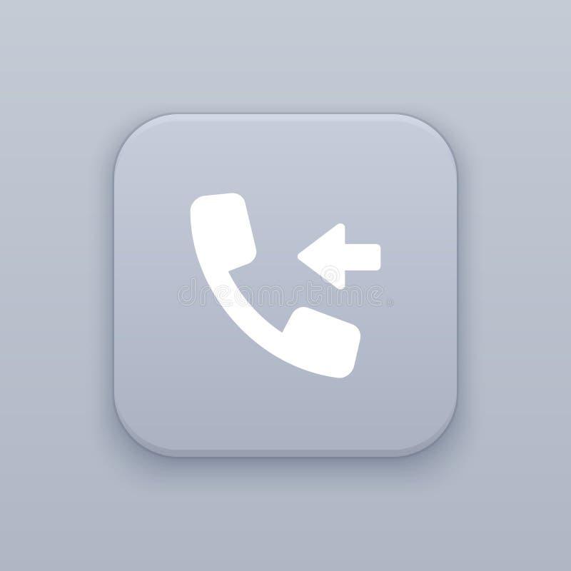 Tome o botão da chamada, o melhor vetor ilustração royalty free