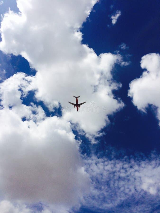 Tome o voo! fotografia de stock
