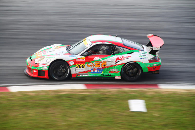 Download Tomei Porsche 360, SuperGT 2010 Editorial Stock Photo - Image: 14854008