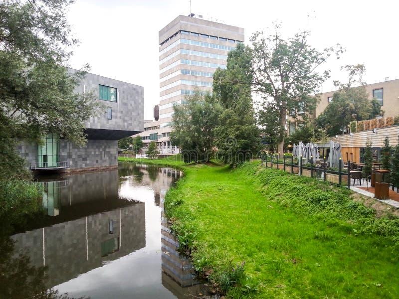 Tomma Eindhoven parkerar fotografering för bildbyråer
