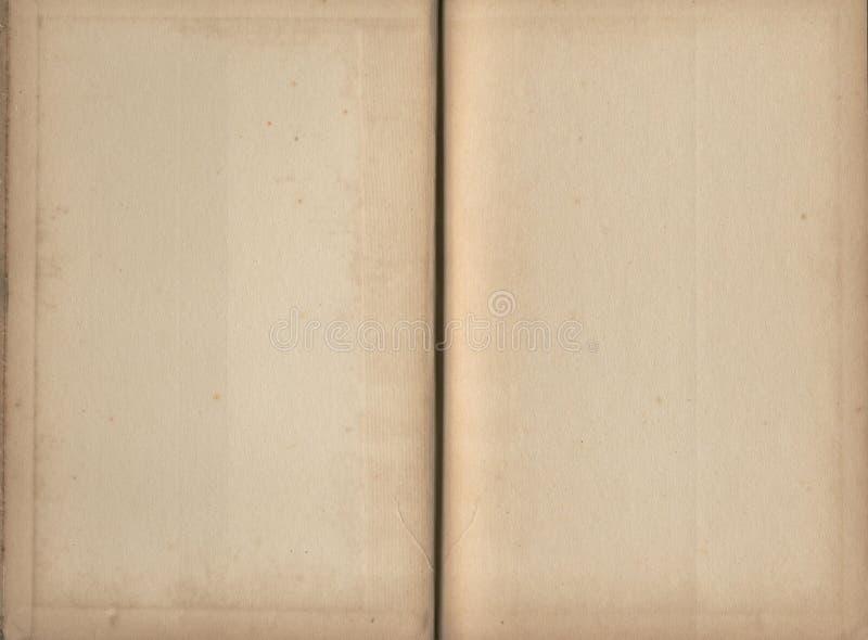 tomma sidor för bok royaltyfria bilder