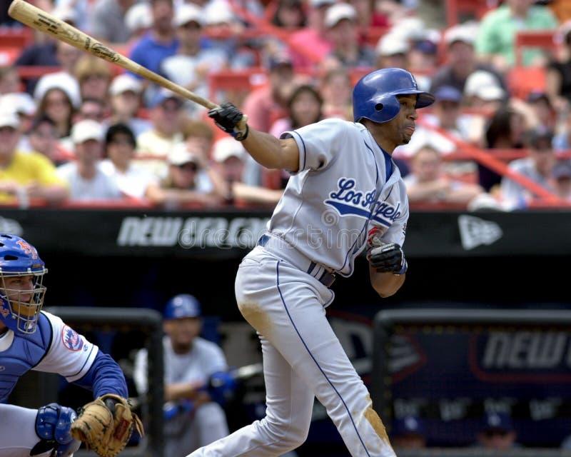 Tommy Goodwin, Los Angeles Dodgers imagen de archivo libre de regalías