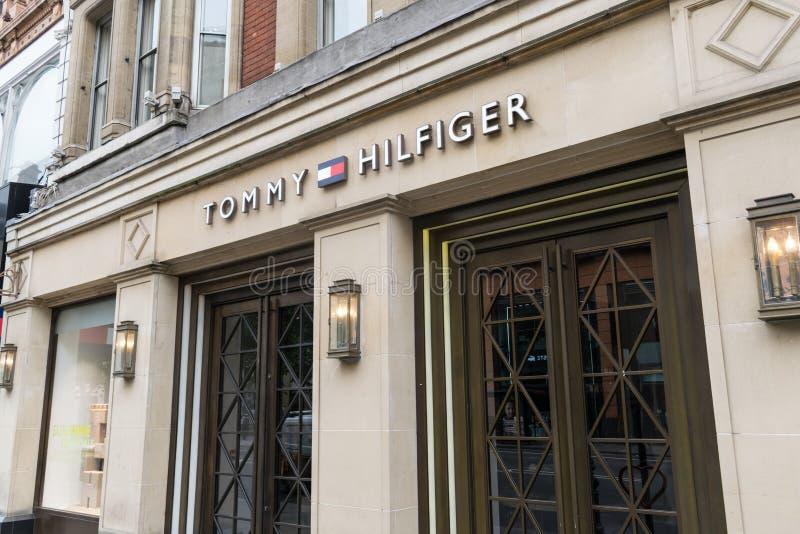 Tommy Hilfiger London foto de archivo libre de regalías