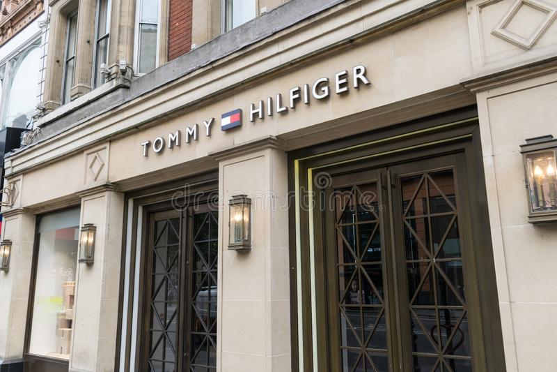Tommy Hilfiger London foto de stock royalty free