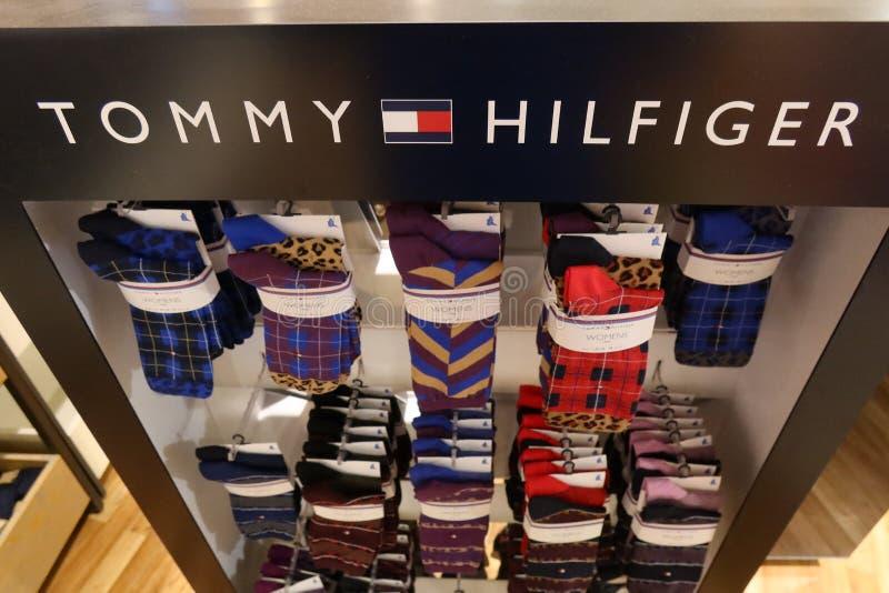 Tommy Hilfiger Socken lizenzfreie stockbilder
