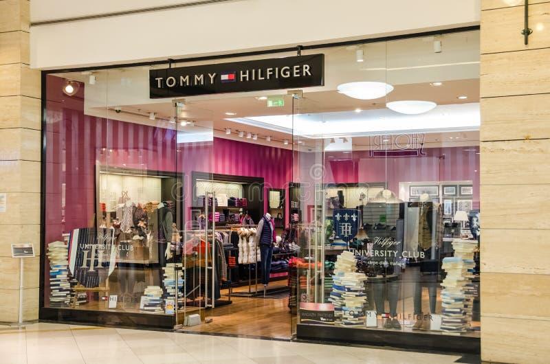 Tommy Hilfiger Store lizenzfreie stockfotografie