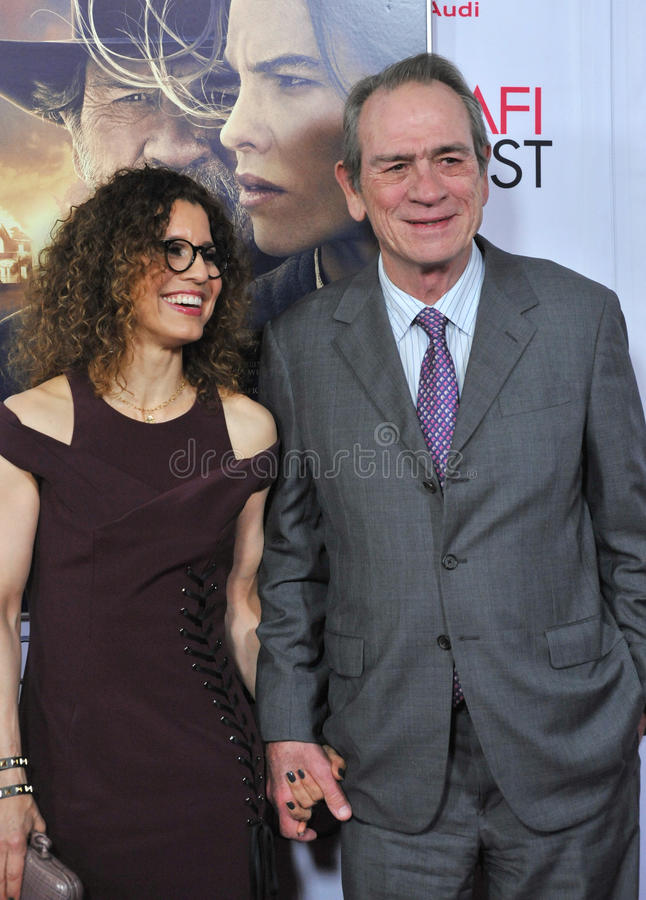 Tommy Lee Jones And Wife