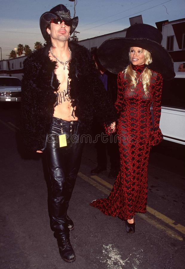Download Tommy Lee,Pamela Anderson editorial image. Image of tommy - 27214035