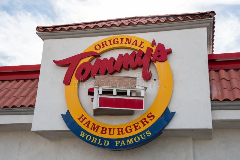 Tommy`s Original Hamburgers royalty free stock photos