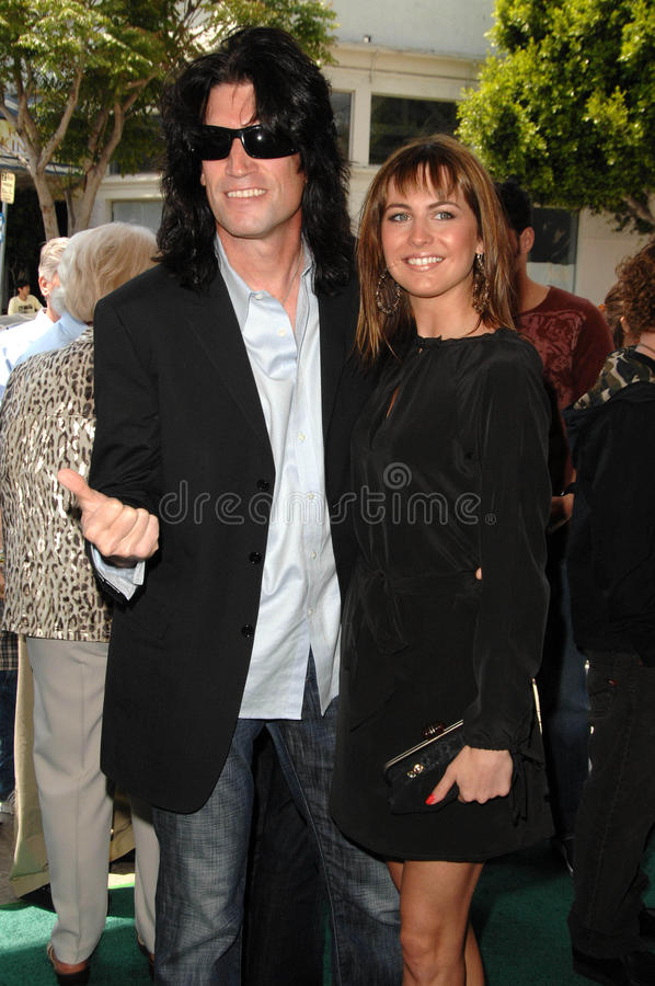 Tommy Thayer. At the Los Angeles Premiere of 'A Plumm Summer'. Mann Bruin, Westwood, CA. 04-20-08 stock image