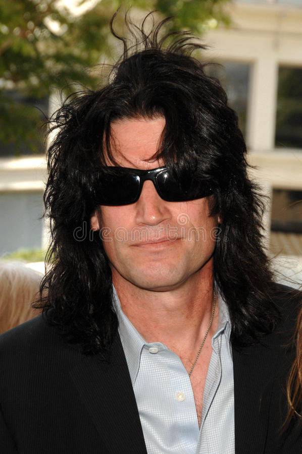 Tommy Thayer. At the Los Angeles Premiere of 'A Plumm Summer'. Mann Bruin, Westwood, CA. 04-20-08 royalty free stock photography