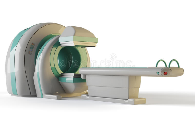 Tomograph de MRI illustration de vecteur