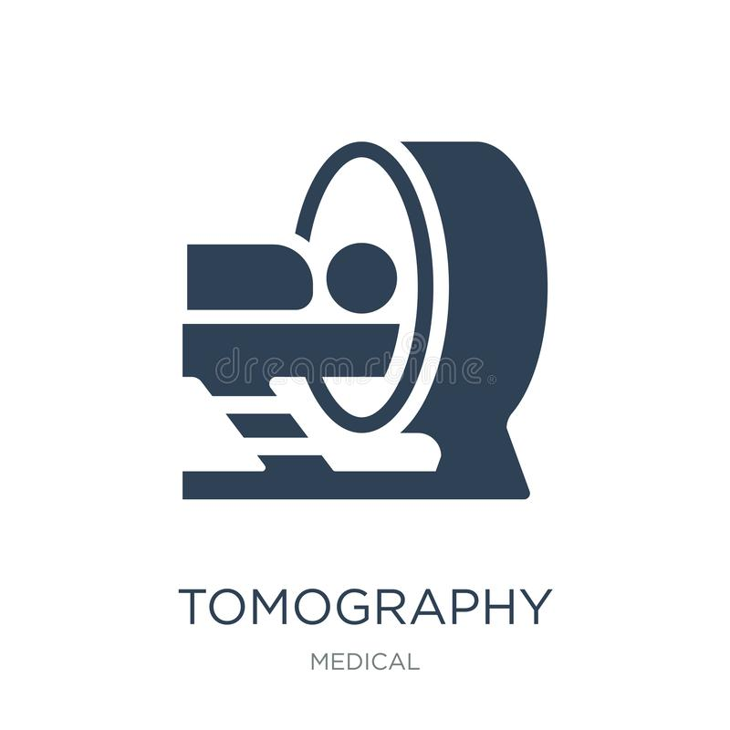 tomography icon in trendy design style. tomography icon isolated on white background. tomography vector icon simple and modern stock illustration
