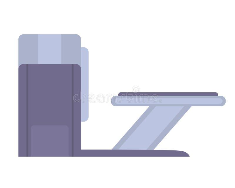 Tomographybildläsare magnetisk resonans för kopiering royaltyfri illustrationer