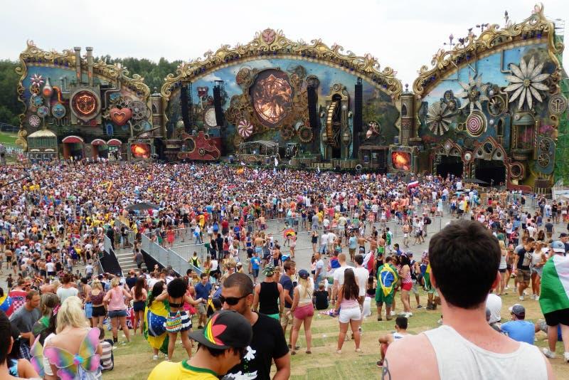 Tomorrowland stock afbeelding