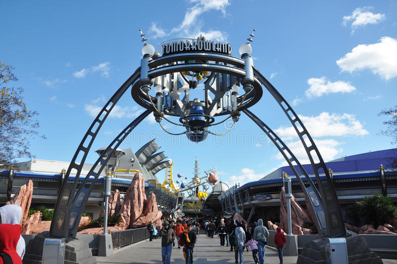 Download Tomorrowland In Magic Kingdom, Disney Orlando Editorial Photo - Image: 17553996