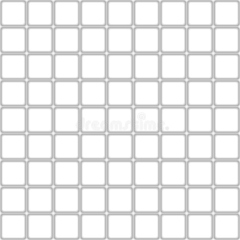 Tomowa realistyczna tekstura, szarość 3d kwadrata kształta geometryczny wzór ilustracja wektor