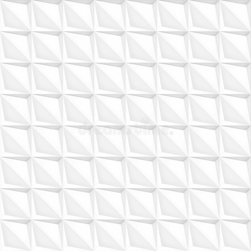 Tomowy realistyczny wektor gra główna rolę teksturę, światło płytek geometryczny bezszwowy wzór, projektuje białego tło dla ciebi royalty ilustracja