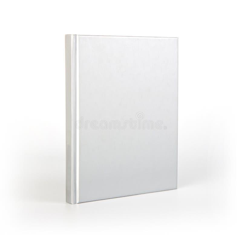 Tomt bokomslag över vit bakgrund med skugga arkivbilder