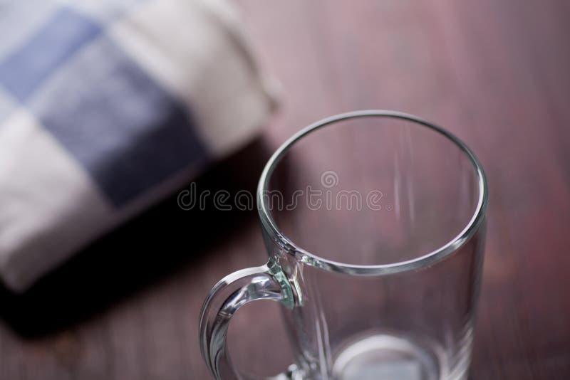 Tomt exponeringsglas royaltyfria foton