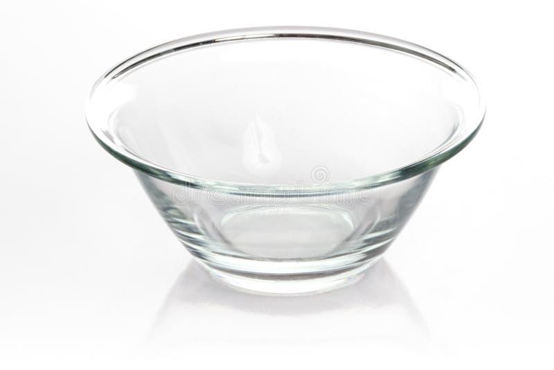 tomt exponeringsglas för bunke royaltyfri fotografi