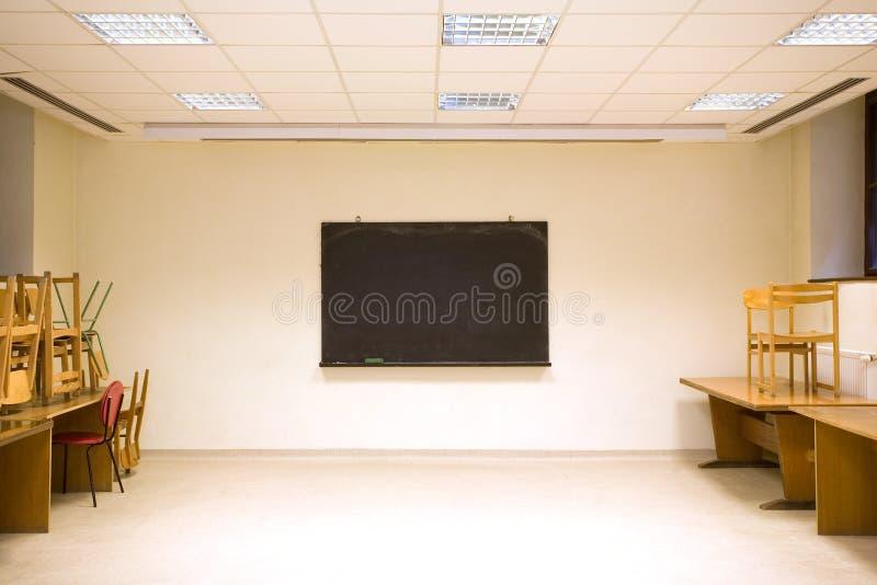 tomt klassrum arkivbild