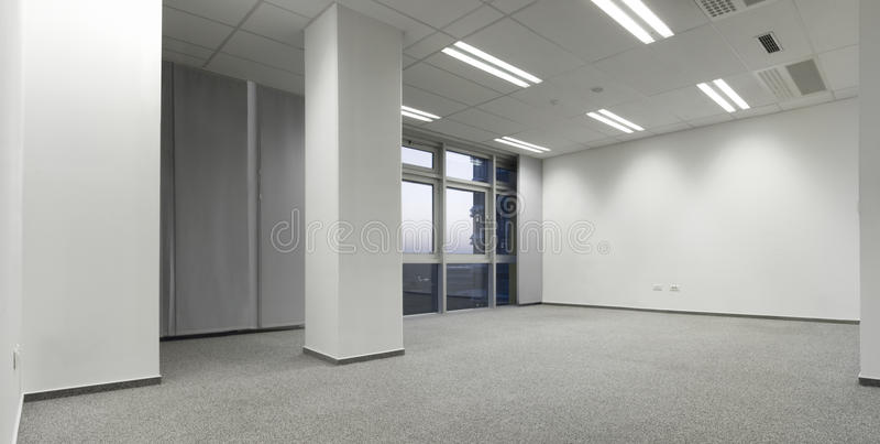 tomt kontor arkivfoto