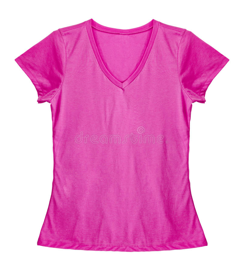 Tomt ljus - rosa skjorta royaltyfria foton